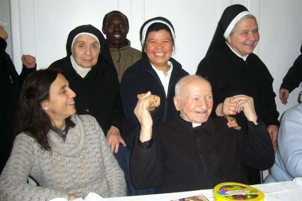 Firenze festeggia i 106 anni di padre Adelmo