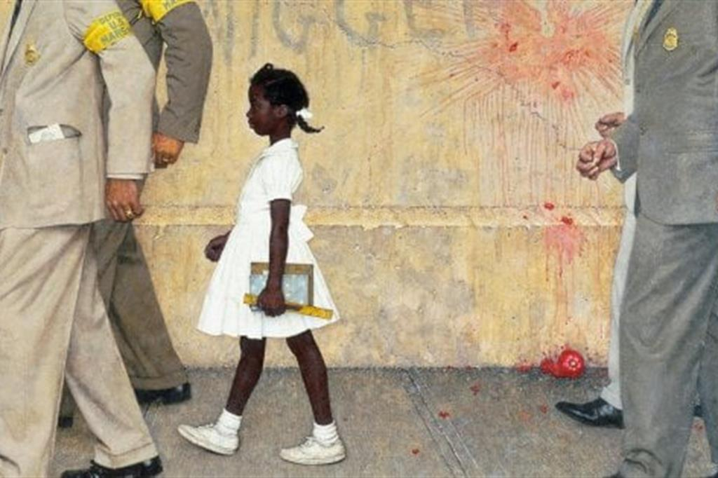 Identificato l 39 uomo degli insulti razzisti a una ragazza - La ragazza alla finestra dali ...