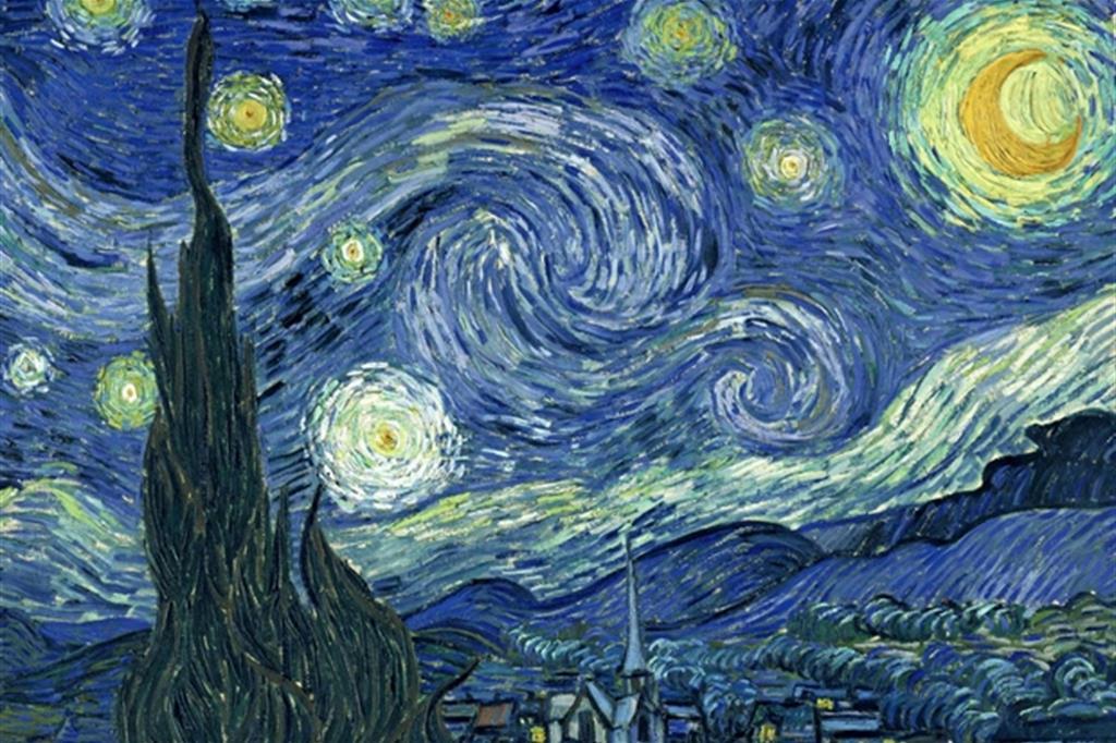 La celeberrima «Notte stellata» di Van Gogh sarebbe stata dipinta all'alba del 19 giugno 1889 dall'ospedale Saint-Rémy de Provence