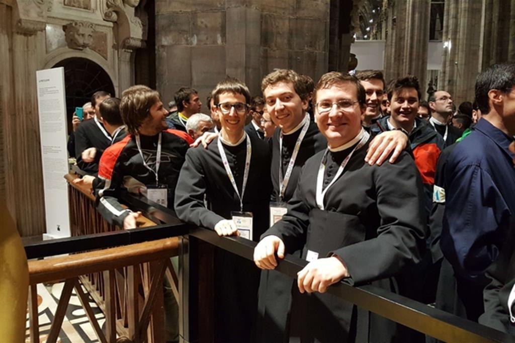 Seminaristi in Duomo -