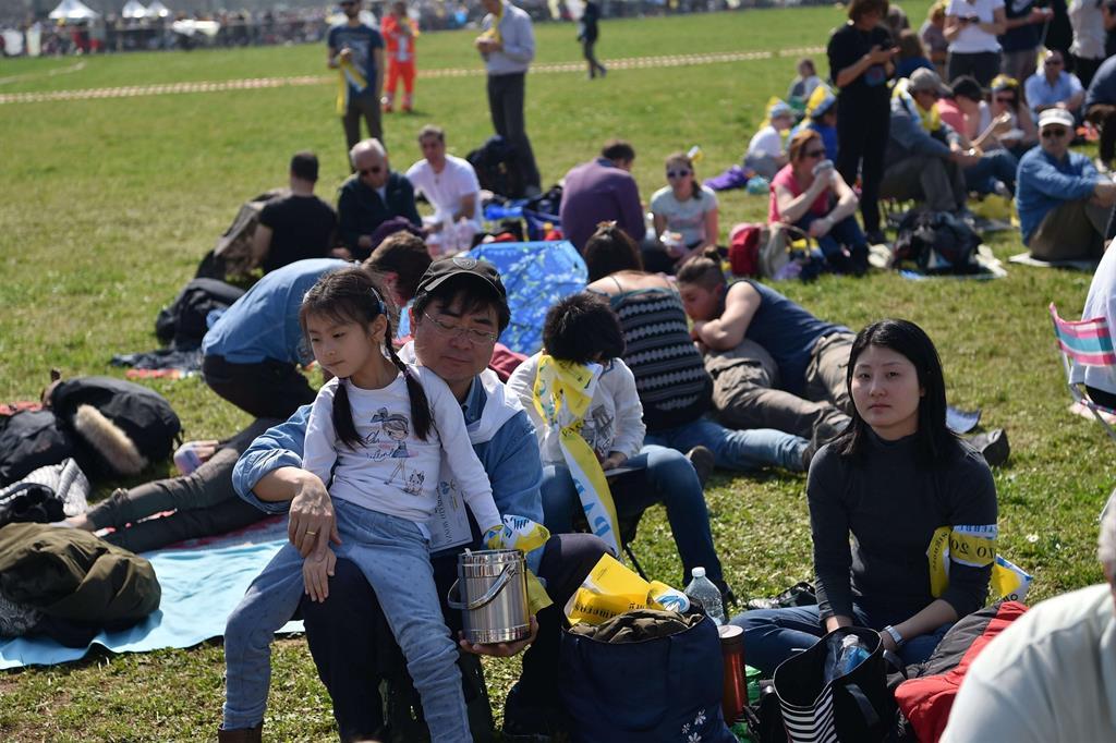 Al parco di Monza si attende il Papa -