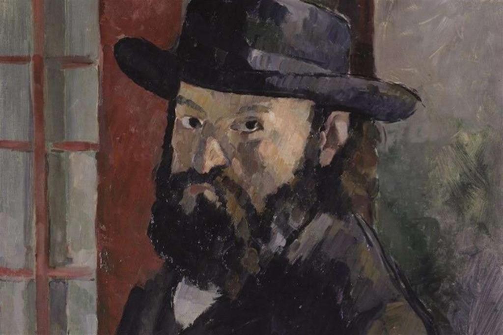 Autoritratto di Cezanne