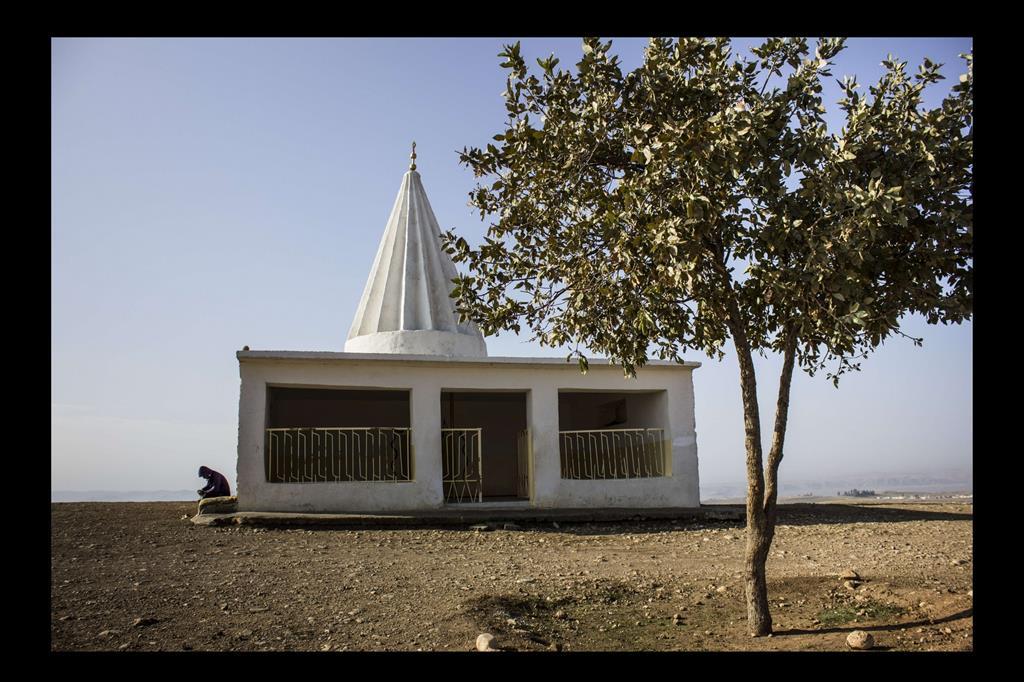 Il tempio dello Sceicco Yazida. -