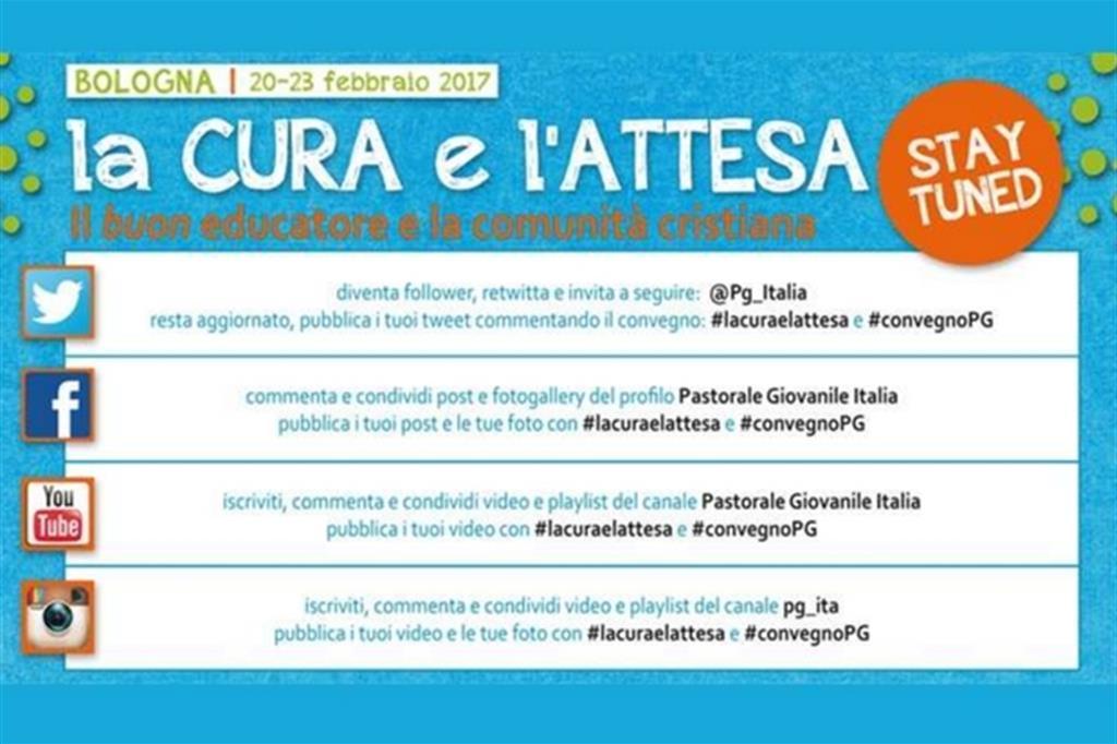 9196c2bcbe I canali social per seguire il Convegno nazionale di pastorale giovanile di  Bologna