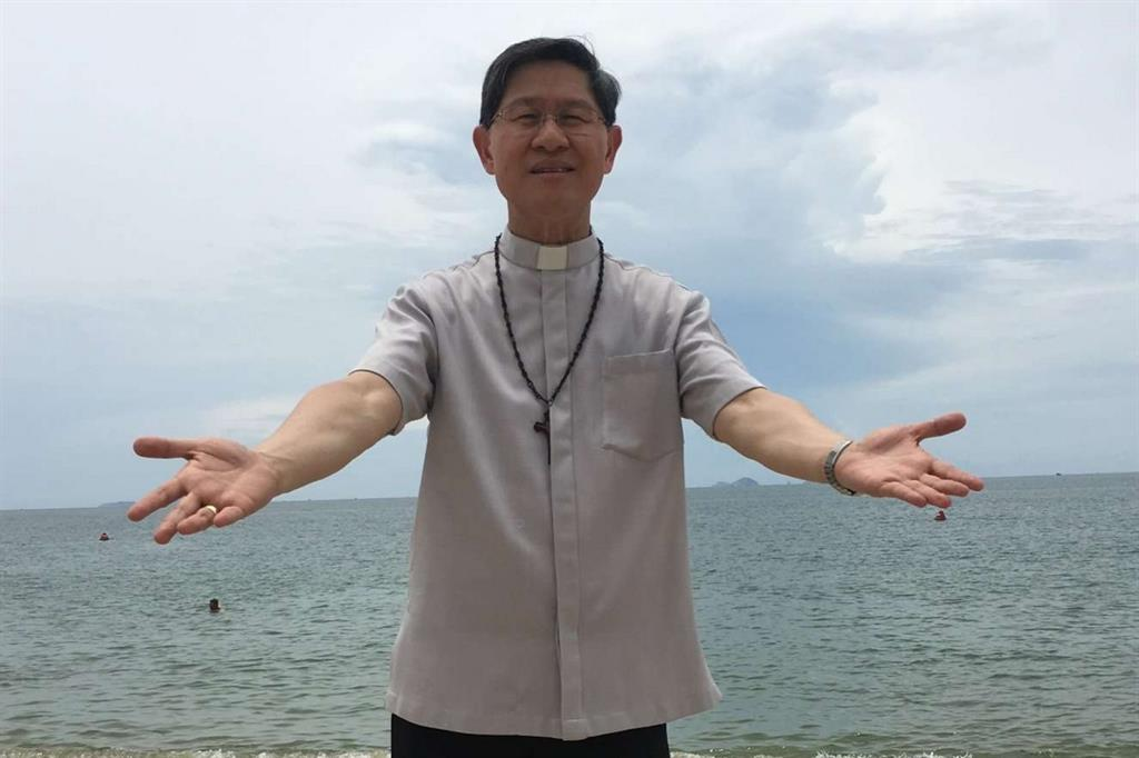 Il presidente di Caritas Internationalis, il cardinale Luis Antonio Tagle -