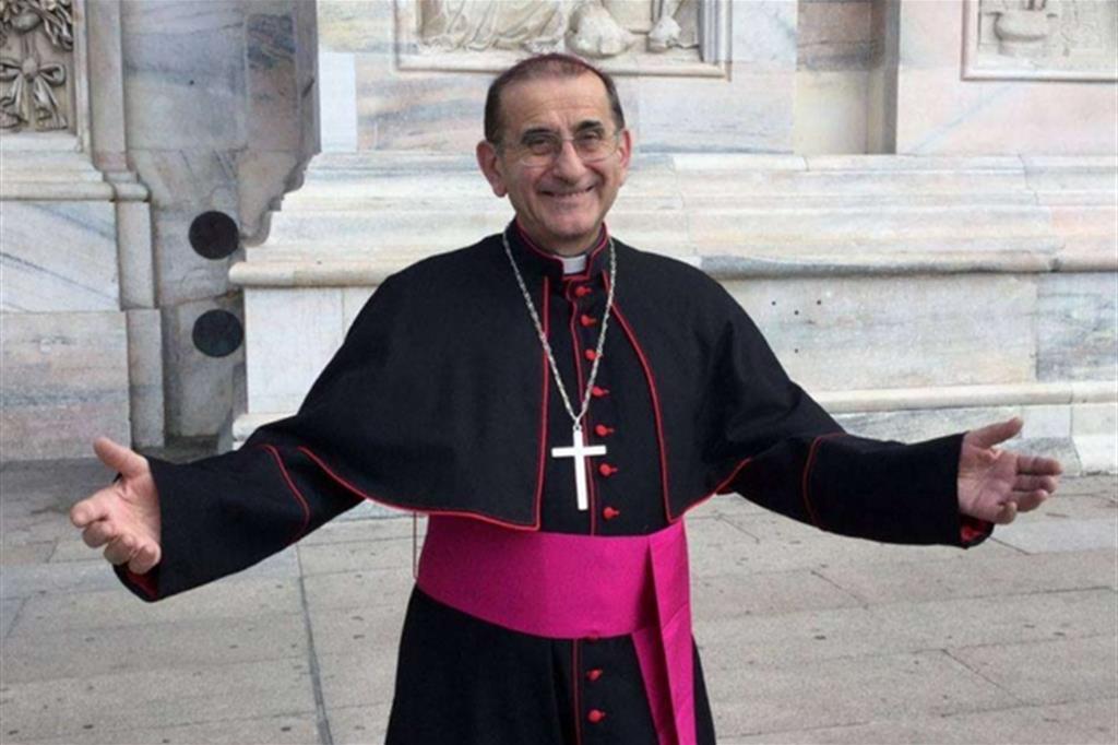 L'arcivescovo di Milano, Mario Delpini -