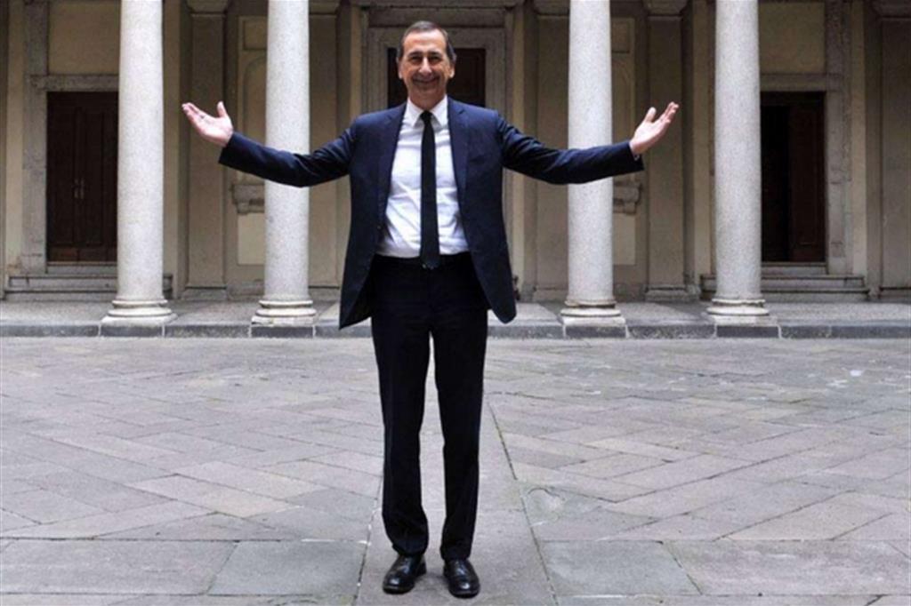 Il sindaco di Milano, Beppe Sala -