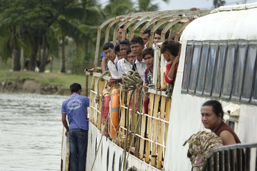La minoranza musulmana non ha alcun diritto per lo stato di Myanmar, la Birmania -