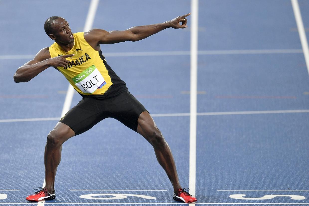 Usain Bolt vola verso l'ultimo traguardo