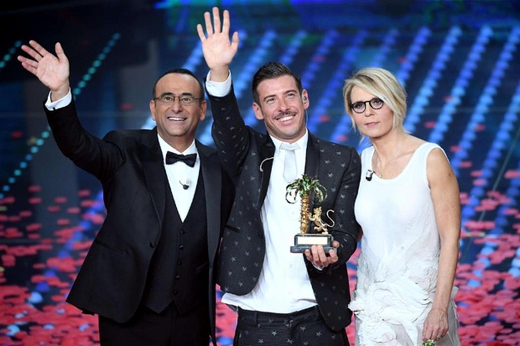 Francesco Gabbani conquista Sanremo: «Non me l'aspettavo»