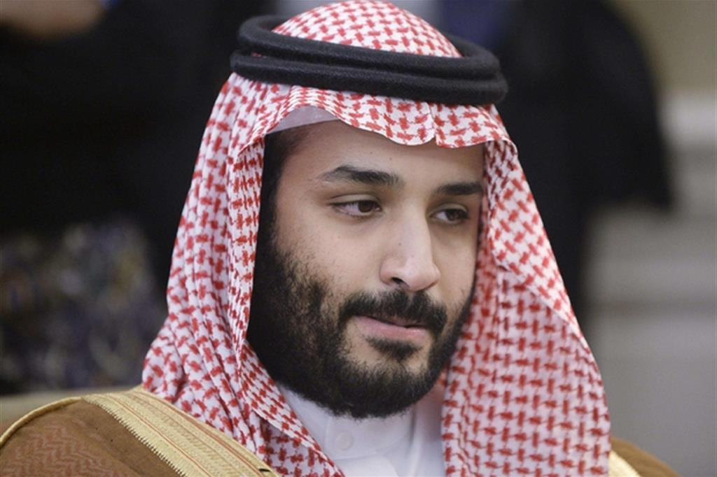 L'erede al trono saudita, il principe Mohammed bin Salman (Ansa)