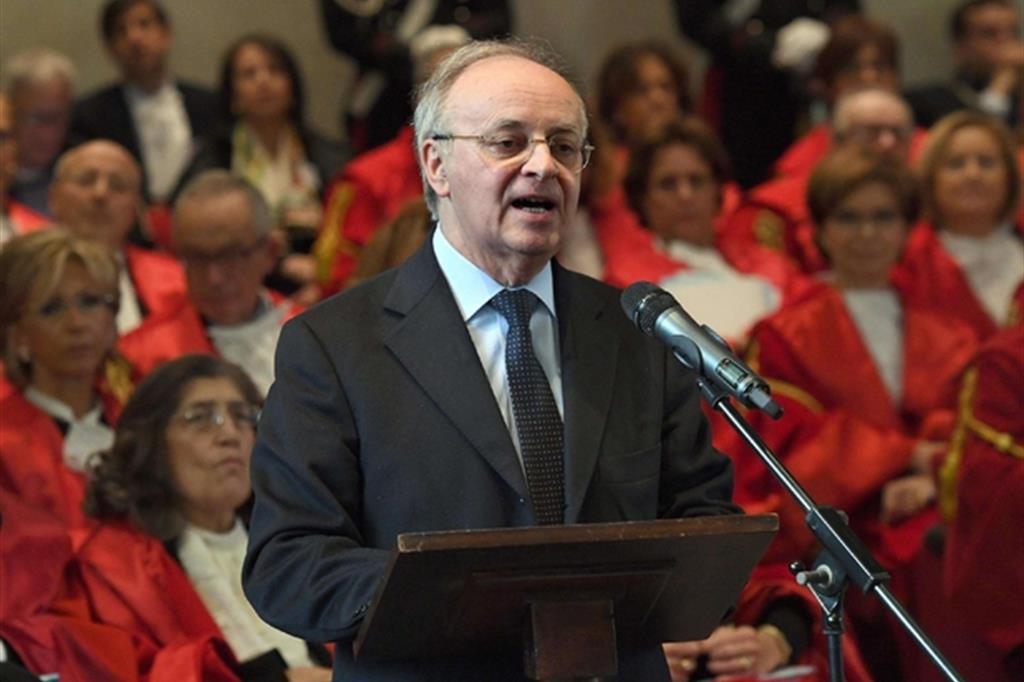 Piecamillo Davigo, presidente dell'Associazione nazionale magistrati