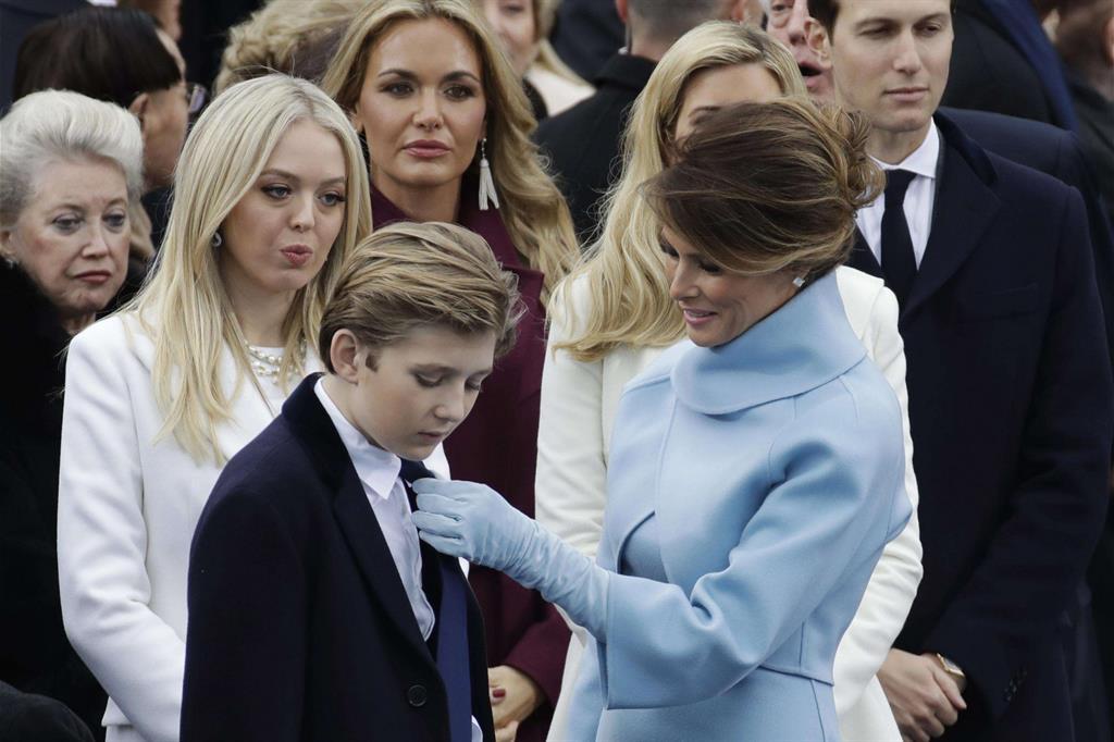 La famiglia di Donald Trump -