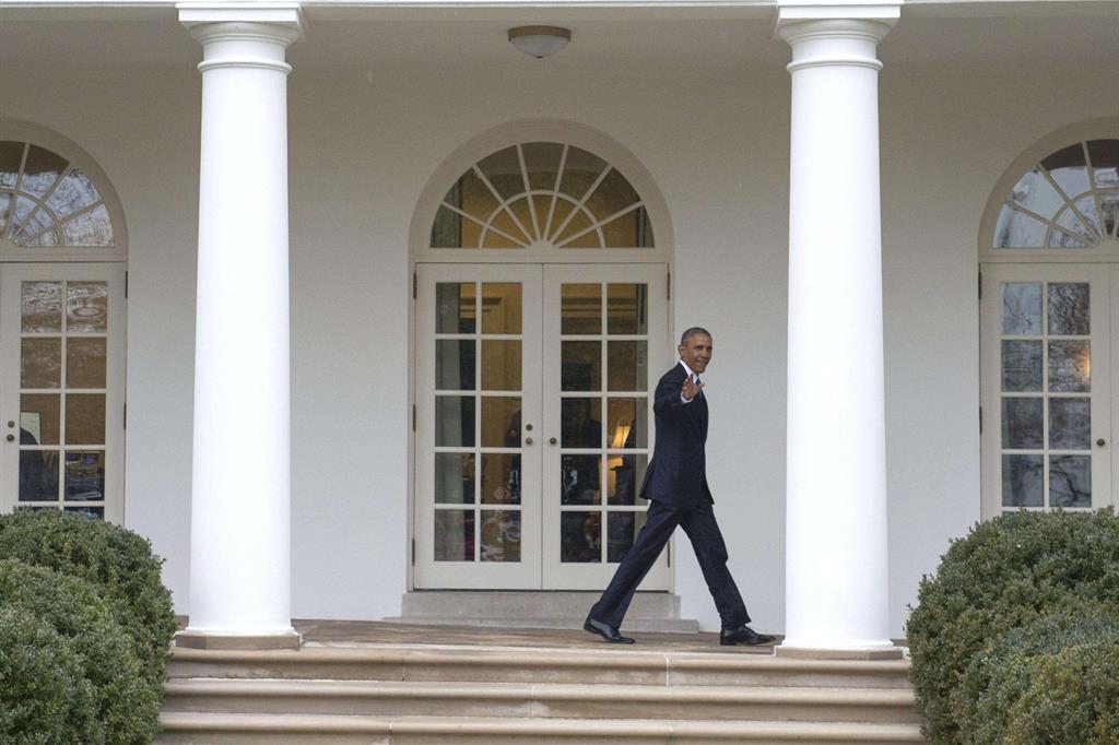 Barack Obama, ultimo giorno alla Casa Binca -