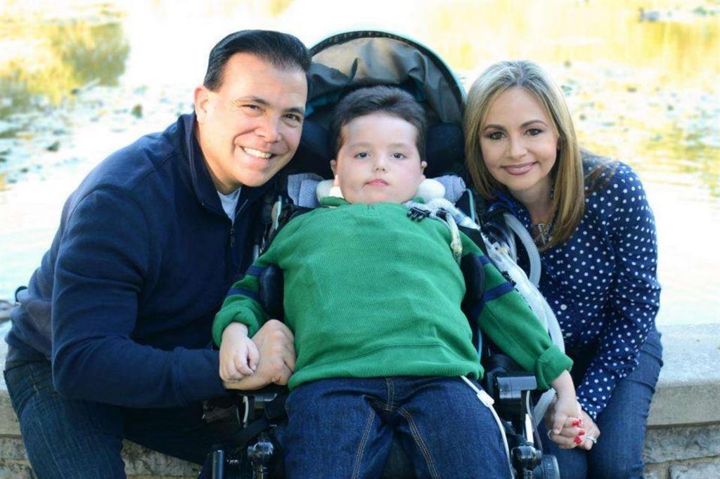 Le fotografie di Arturito sono state fornite dalla famiglia e pubblicate con il consenso dei genitori