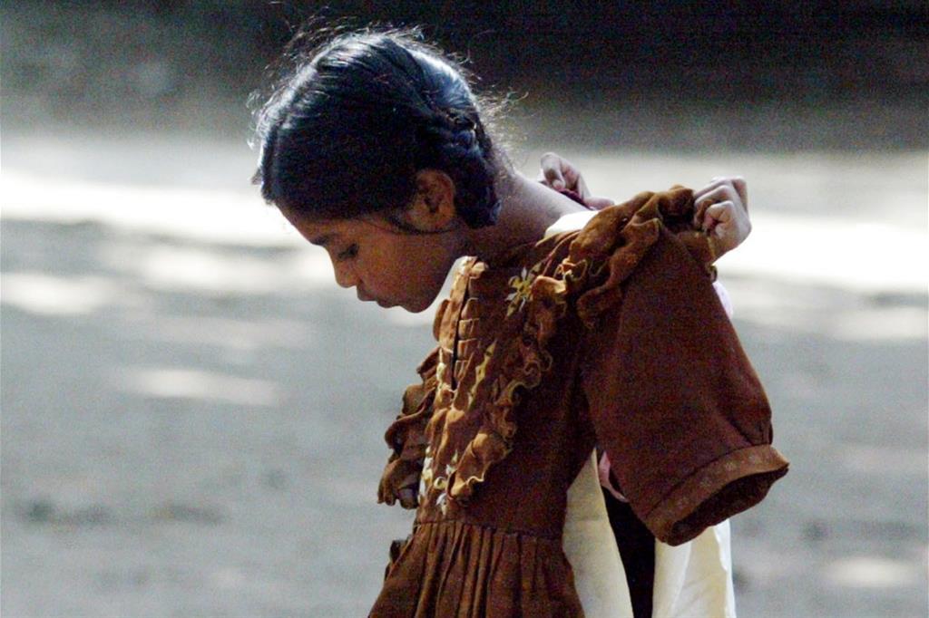 Immagine di archivio: una bimba indiana (Reuters)