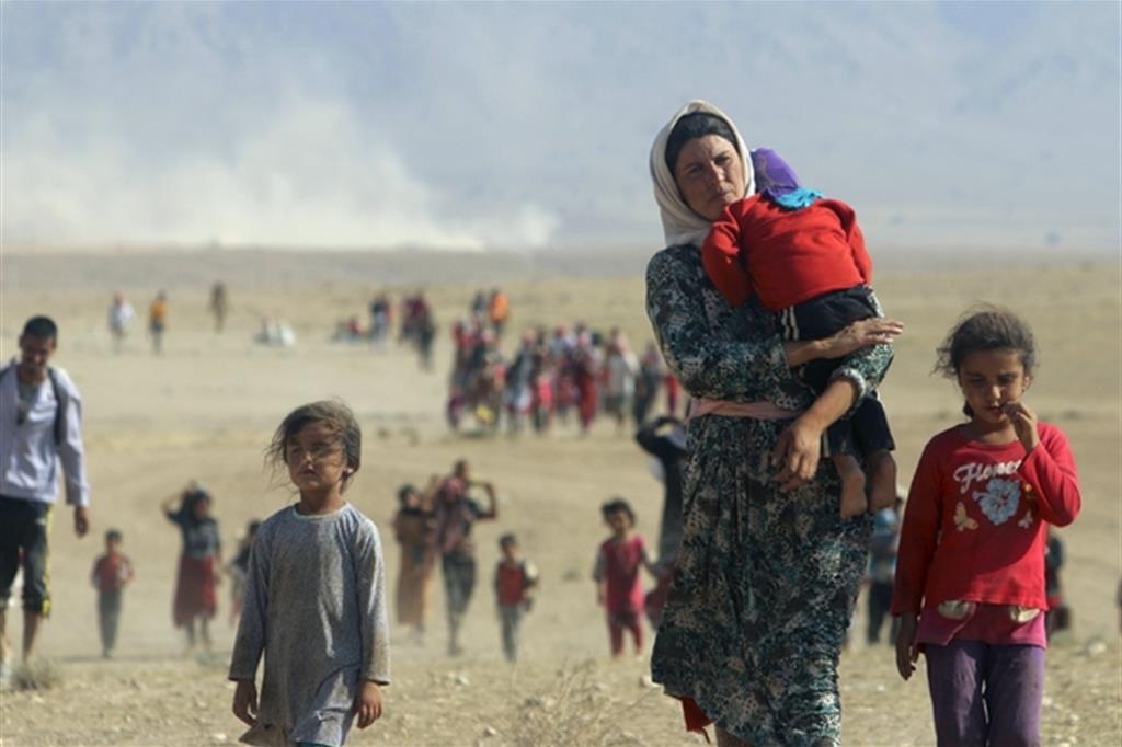 Gli yazidi scampati al Daesh restano in ostaggio del nulla