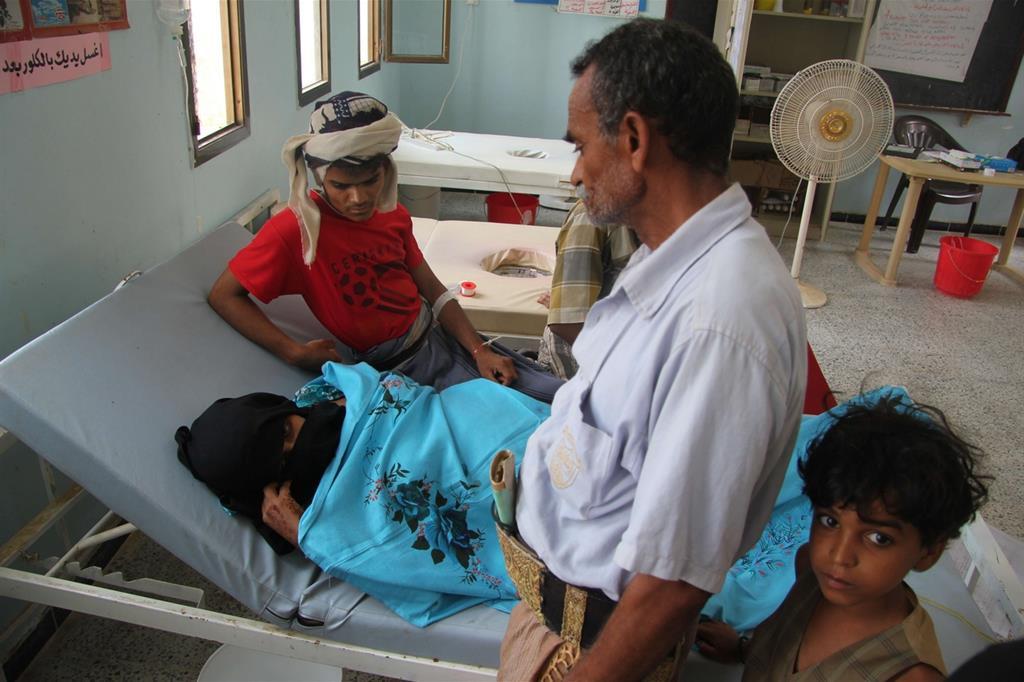 La mamma è rimasta ferita (Oxfam - Ahmed Al-Fadeel) -