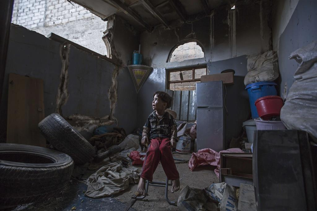 La vita quotidiana è precaria. Le scuole distrutte o fuori uso sono almeno 1.600  (Oxfam - Gabreez) -