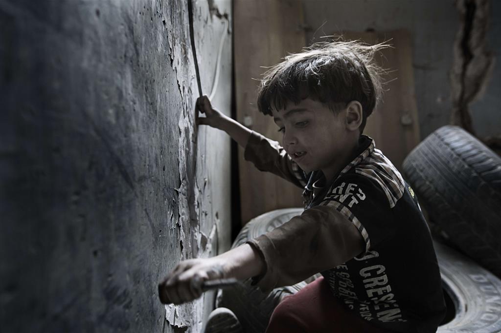 In questo 2017 Save the children calcola che siano morti 50mila bambini  (Oxfam - Gabreez) -