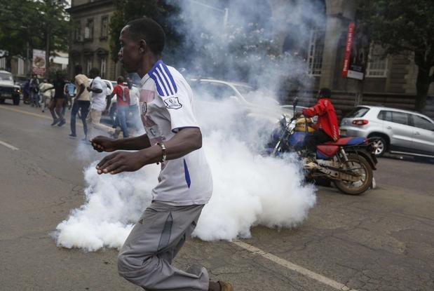 Boicot y protestas, marcan elección presidencial de Kenia