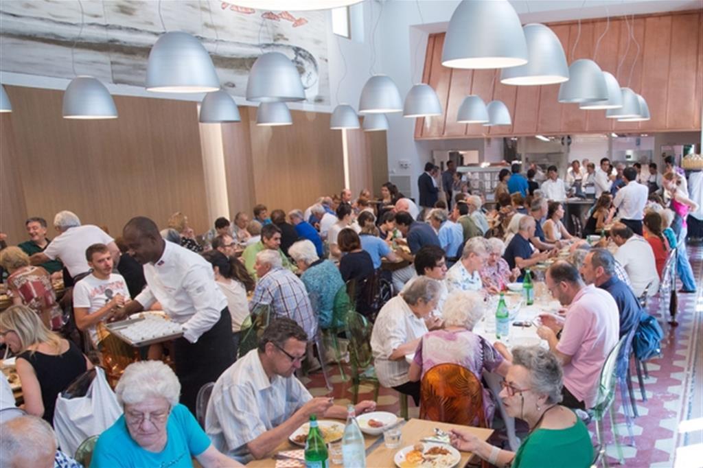 «Ristorante solidale» nasce con i pasti recuperati dalle eccedenze