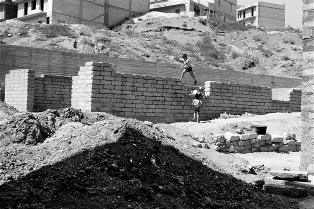 Gela, 1970, foto di Giovanni Chiaramonte -