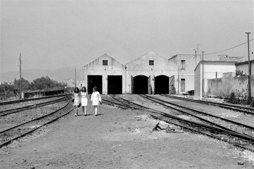 Ragusa, 1970, foto di Giovanni Chiaramonte -