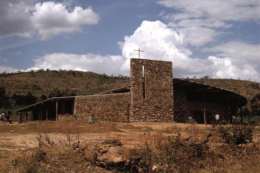 La chiesa di San Bernardino a Nyakay, inBurundi-esterno -