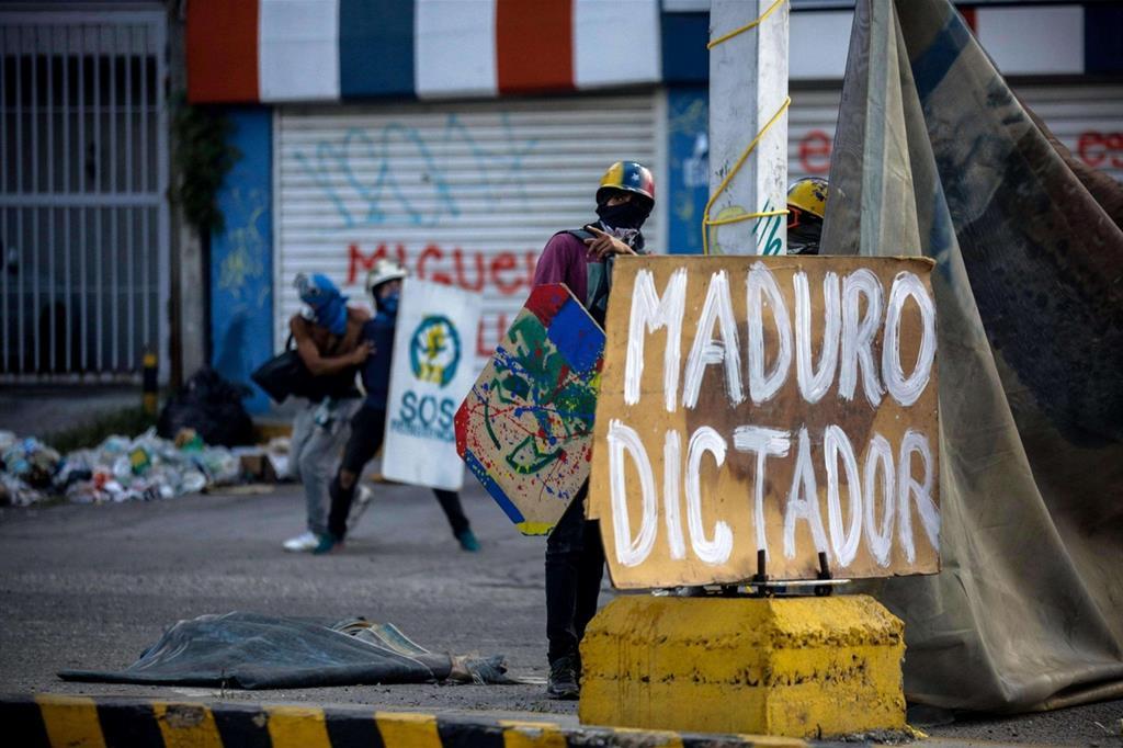Per l'opposizione è solo un dittatore (Ansa) -