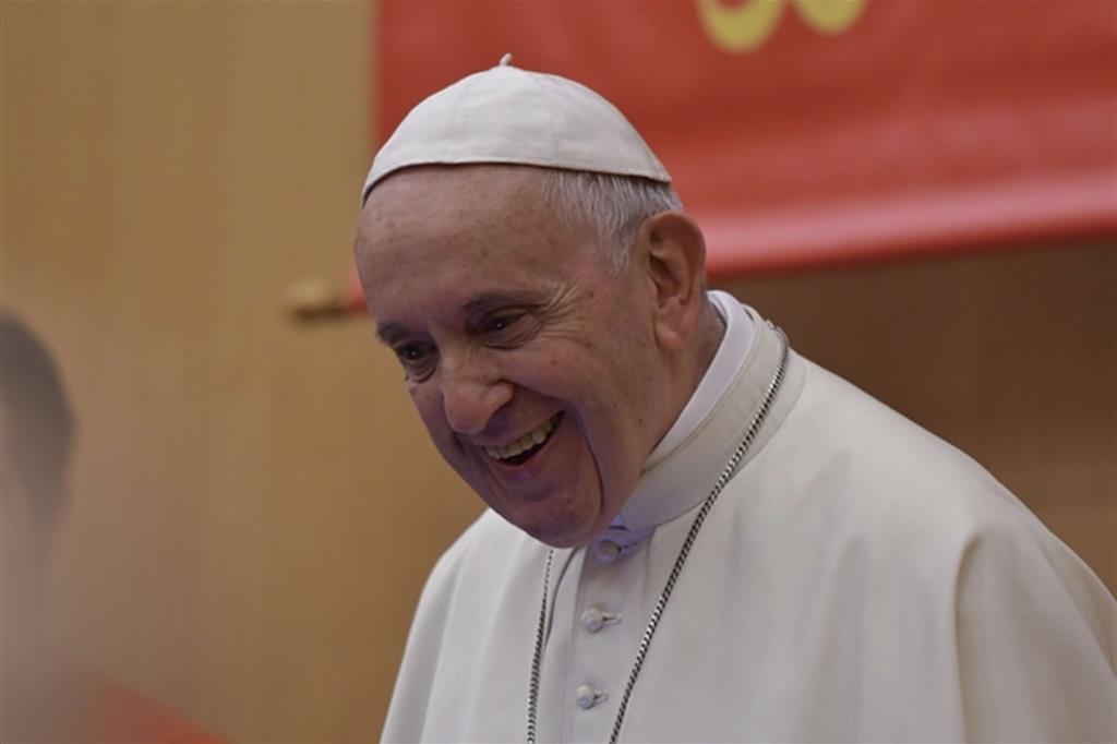 Papa Francesco lo scorso 23 ottobre (Siciliani)