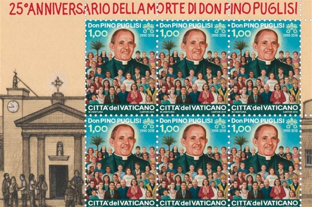 Don Pino Puglisi: un francobollo per i 25 anni della morte