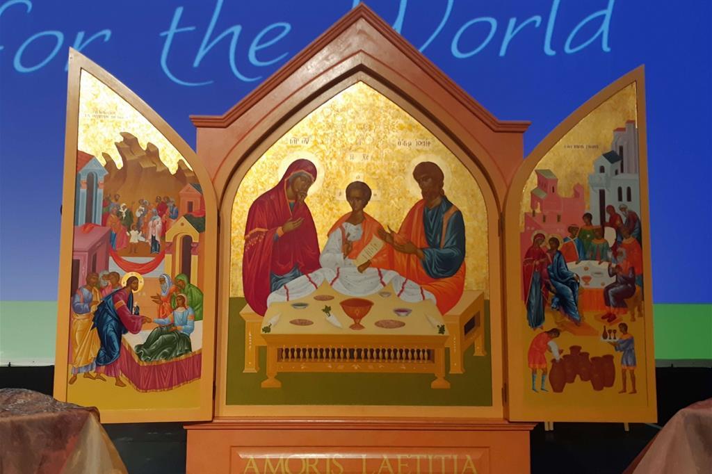 L'icona simbolo dell'Incontro mondiale delle famiglie