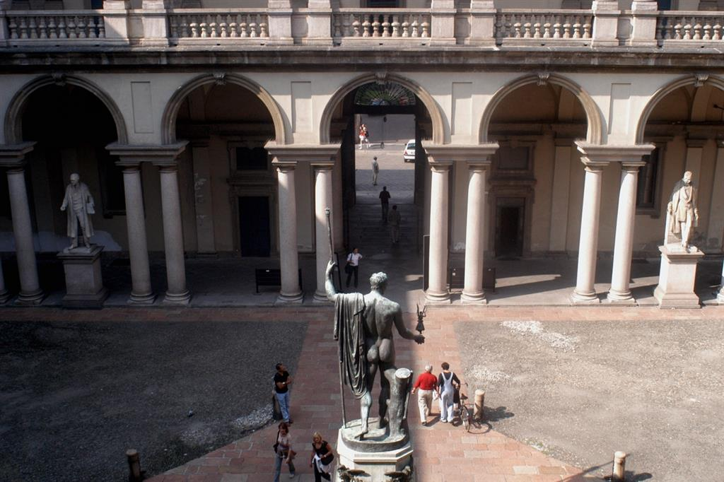 La Pinacoteca di Brera (Fotogramma)