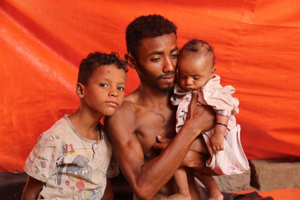 Profughi in fuga da Hodeida (Oxfam) -