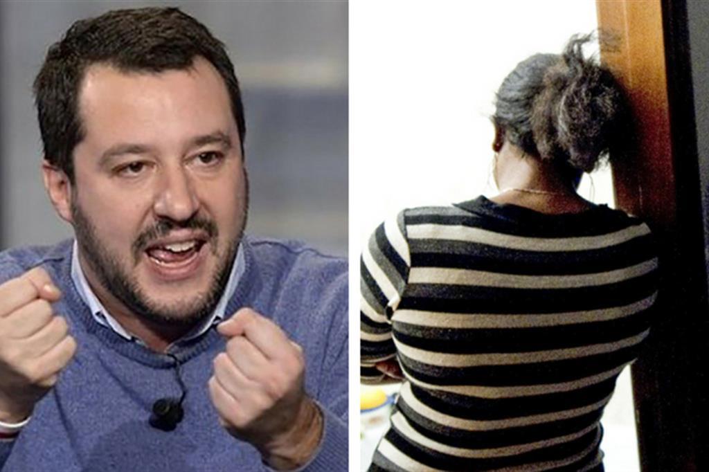 Caro ministro Salvini, essere schiave non è una pacchia