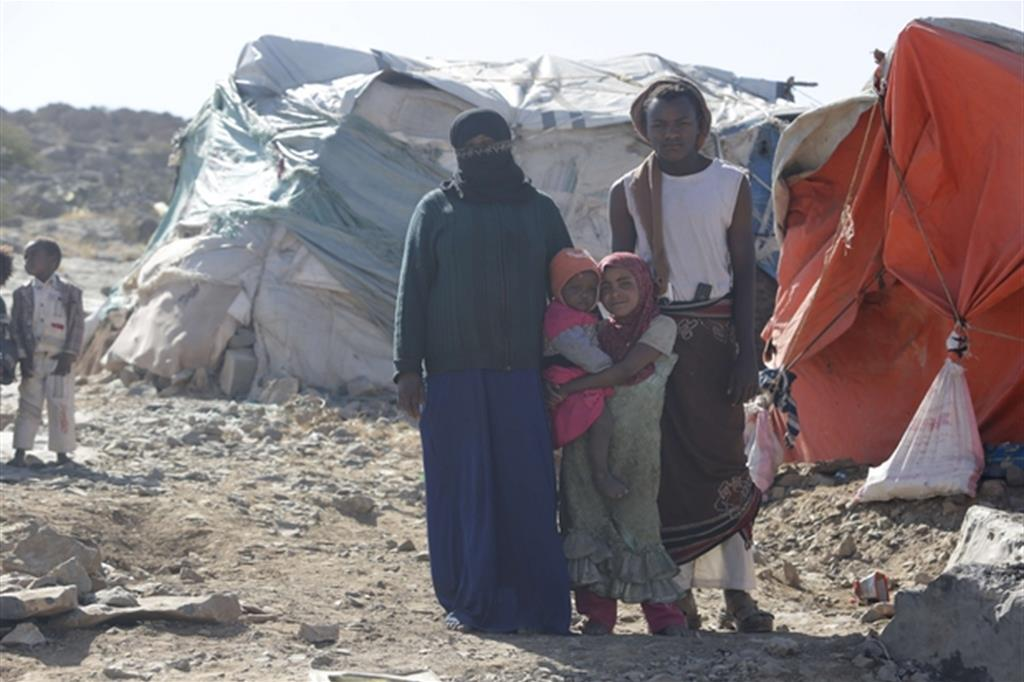 Un campo profughi (Mohammed Al-Mekhlafi/Oxfam) -