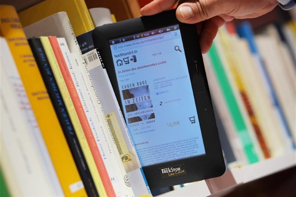 Il futuro è in una libreria digitale? (Epa)