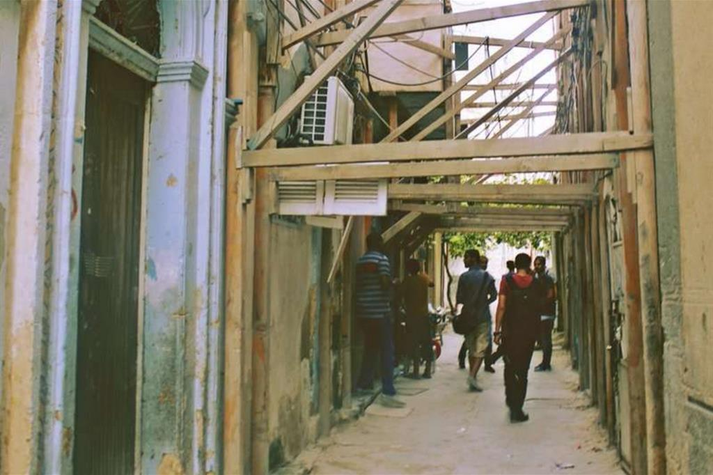 La Medina è da anni in decadenza ma dopo la caduta di Gheddafi, nel 2011, lo Stato è completamente assente -