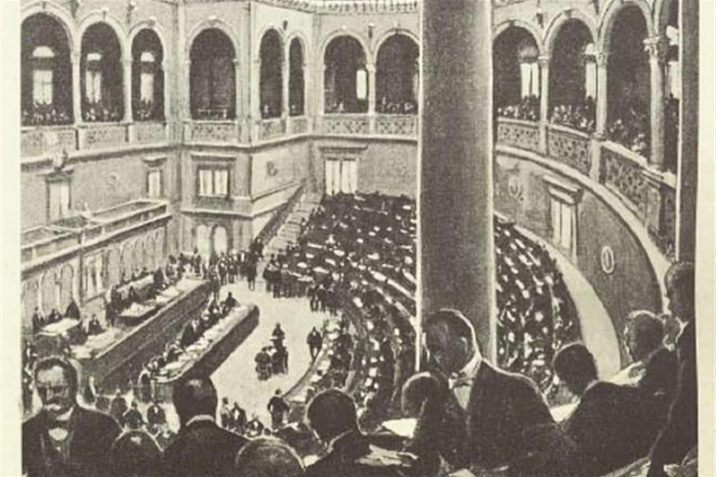 Discorso Camera Mussolini : Cento anni della camera dei deputati: ecco le tappe