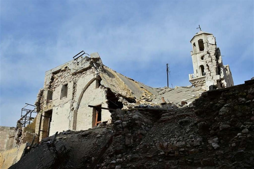 Ricostruire le chiese per una Siria in pace