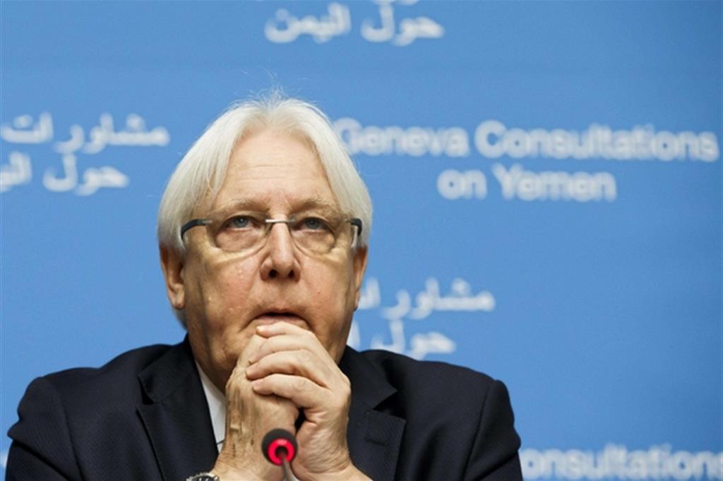 Martin Griffiths, l'inviato speciale dell'Onu per lo Yemen (Ansa)