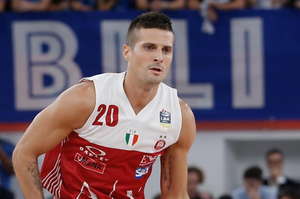 Andrea Cinciarini, 32 anni, capitano dell'Olimpia Milano  (MarcoBrondi/Ciamillo-Castoria)