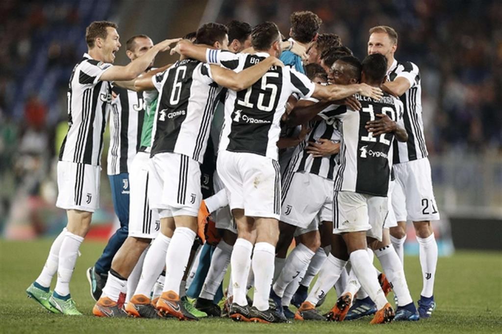 Scudetto, la Juventus delle sette bellezze