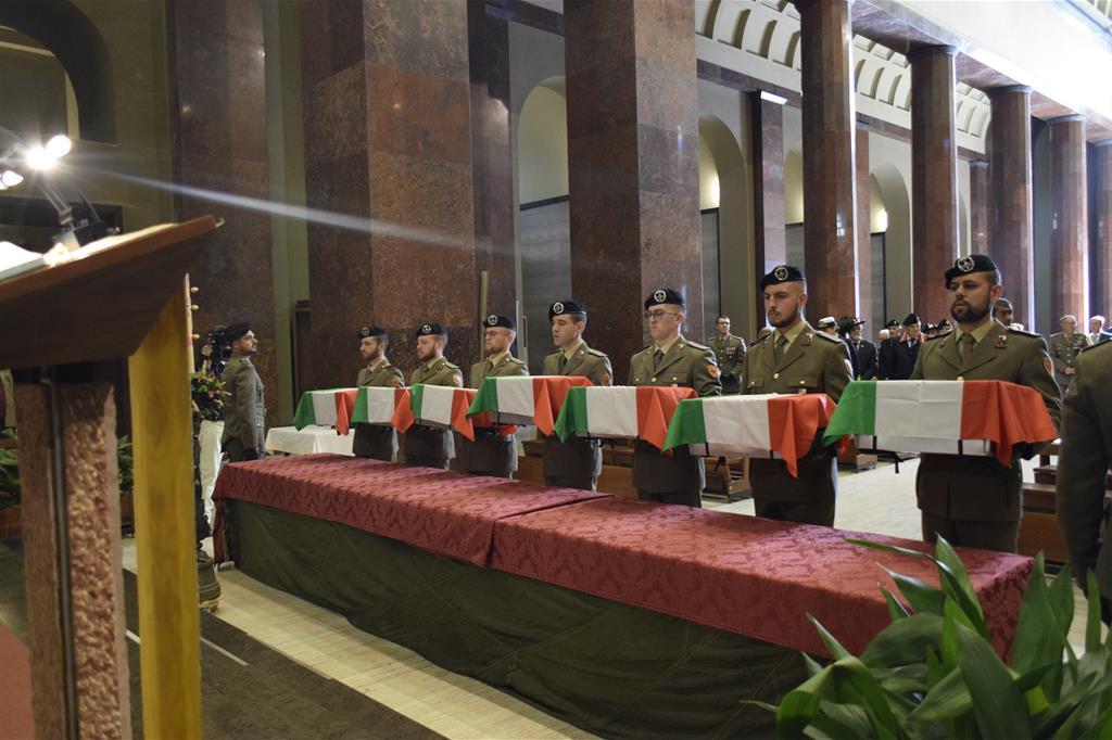 La celebrazione solenne ieri al Sacrario di Udine
