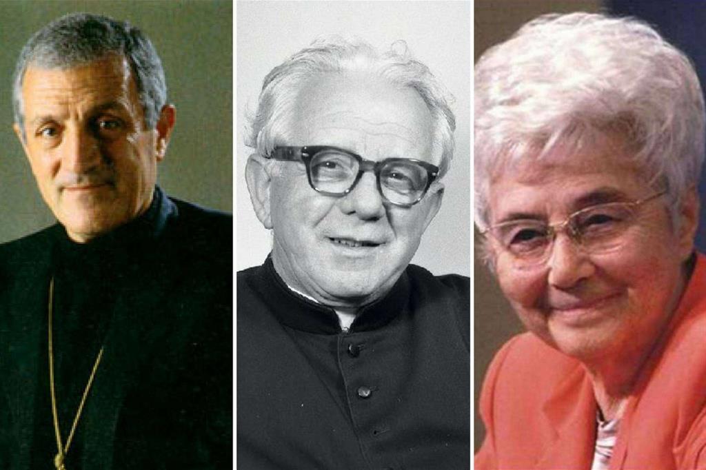 Tonino Bello, Zeno Saltini e Chiara Lubich
