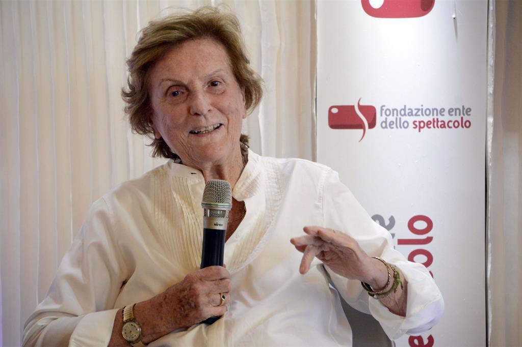La regista Liliana Cavani (Giorgio Boato)