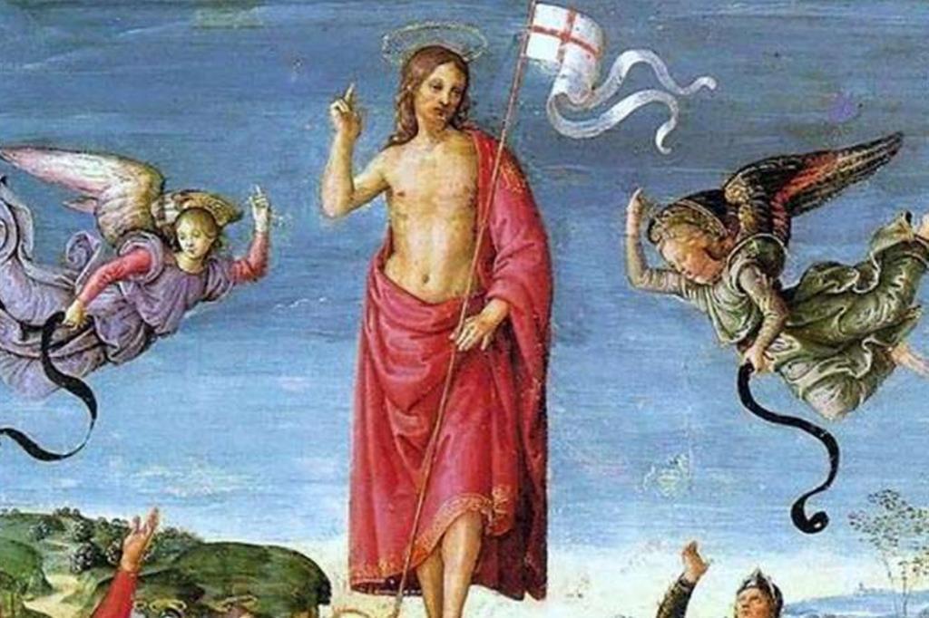 La Resurrezione di Cristo di Raffaello Sanzio (1483-1520) è un dipinto a olio su tavola conservato nel Museo d'Arte di San Paolo, in Brasile. È datato 1501-1502. Nell'immagine un particolare dell'opera