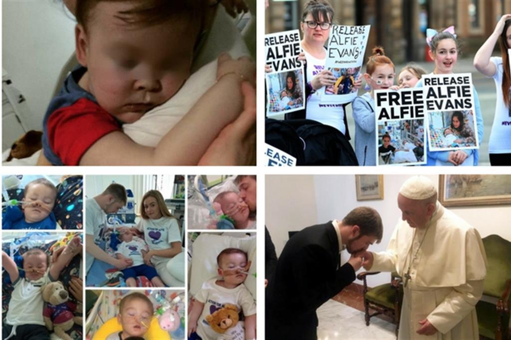 La morte di Alfie Evans. Il Papa «profondamente toccato»