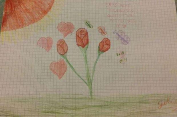 Disegno Di Un Bambino : Bitonto disegno del bambino grazie a carabinieri e polizia